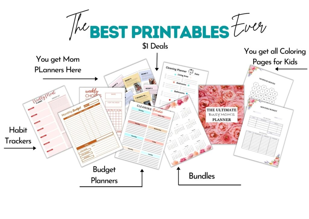 Busy Mom Bliss Printables Shop